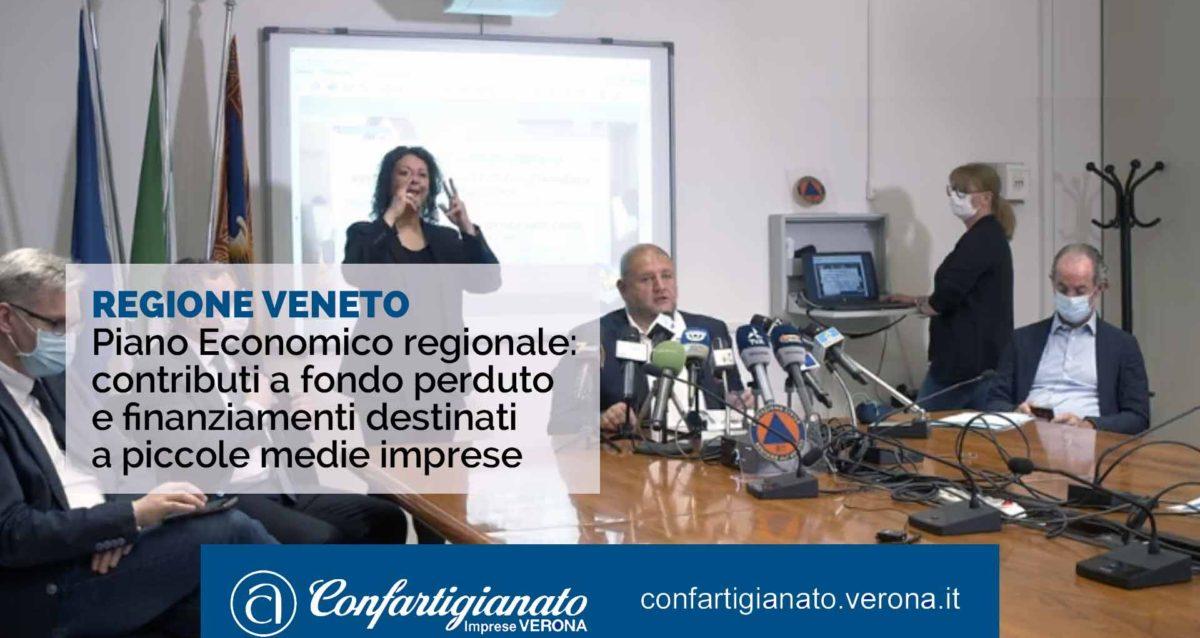 REGIONE VENETO – Piano Economico regionale: contributi a fondo perduto e finanziamenti destinati a piccole medie imprese