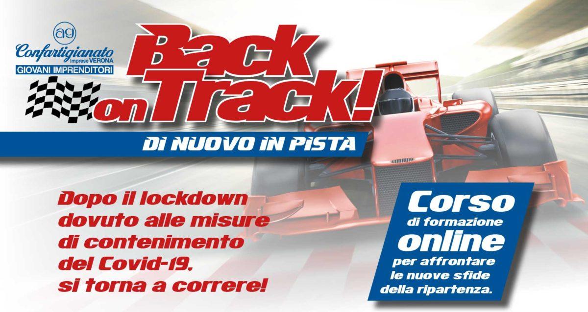 GIOVANI – 'BACK on TRACK: di nuovo in pista', quattro appuntamenti formativi on-line per affrontare le sfide della ripartenza. Iscriviti subito!