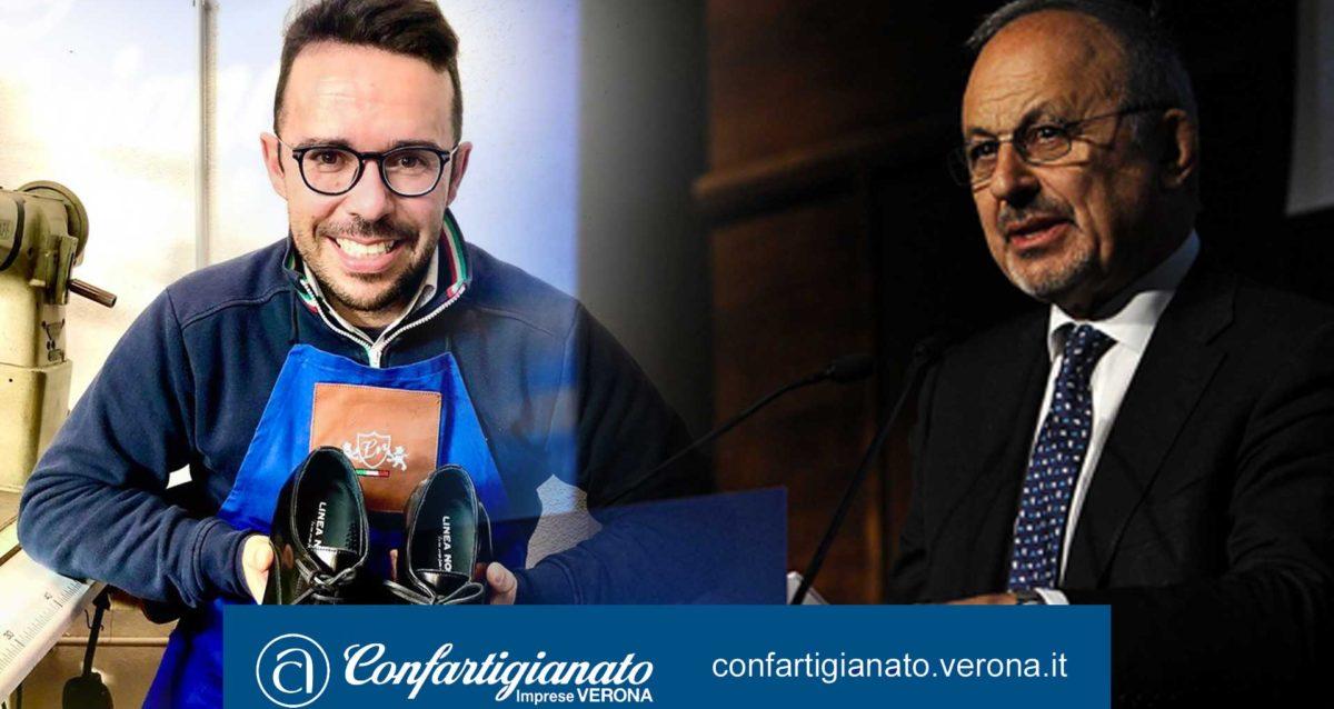 """ATTUALITA' – Alberto Cisamolo a Rai Radio1: calzature e prodotti in pelle rinascono sui social. Il Segretario Fumagalli: """"La rivincita dei prodotti unici dell'artigianato, garanzia di qualità e durata""""."""