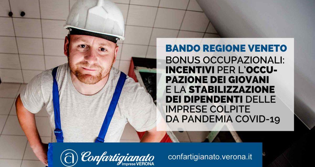 Bonus occupazionali: incentivi per occupazione giovani e stabilizzazione dipendenti delle imprese colpite da pandemia Covid-19