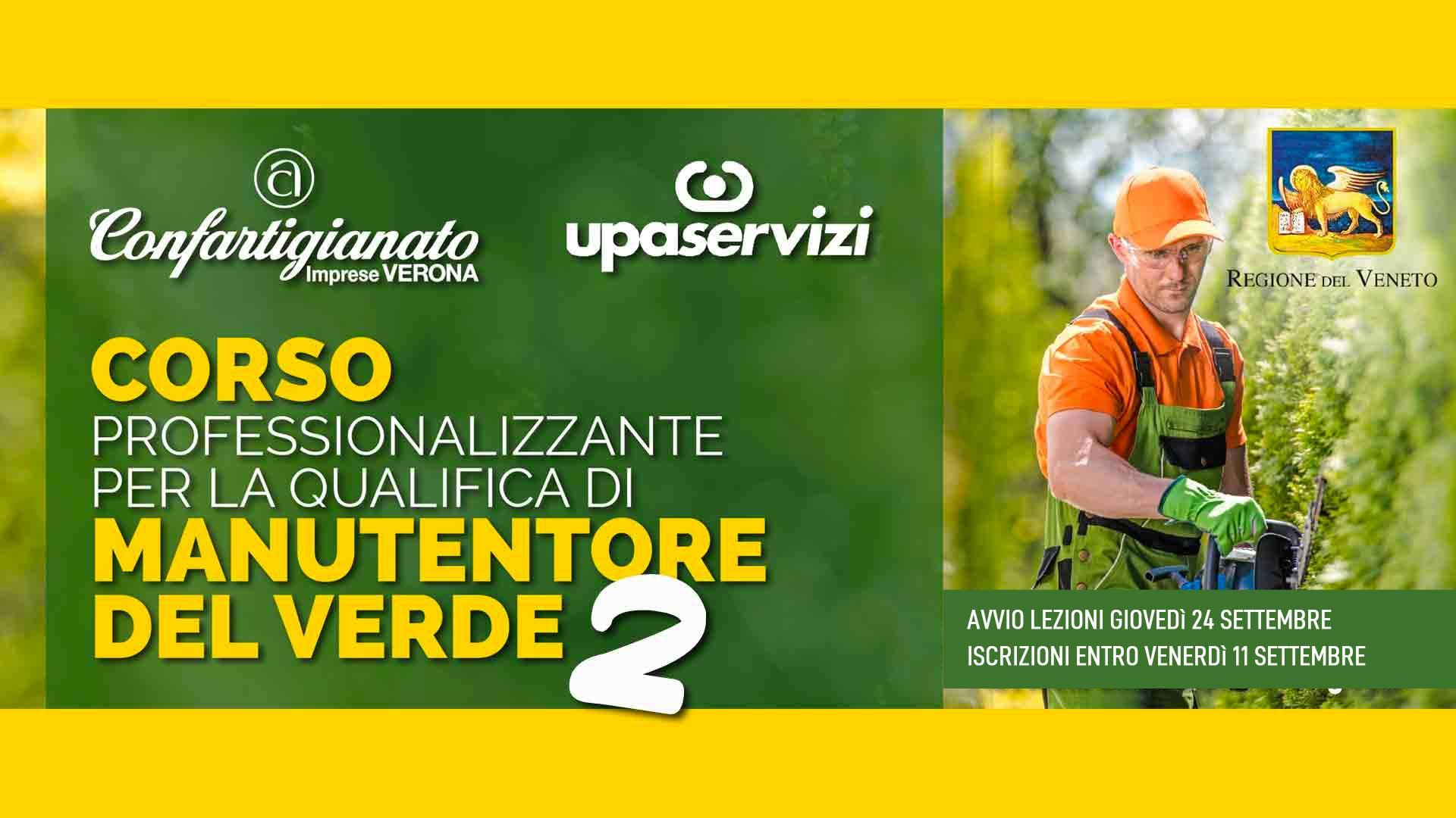 MANUTENTORE DEL VERDE – Nuovo corso di formazione con qualifica riconosciuta dalla Regione Veneto. Iscrizioni entro l'11 settembre