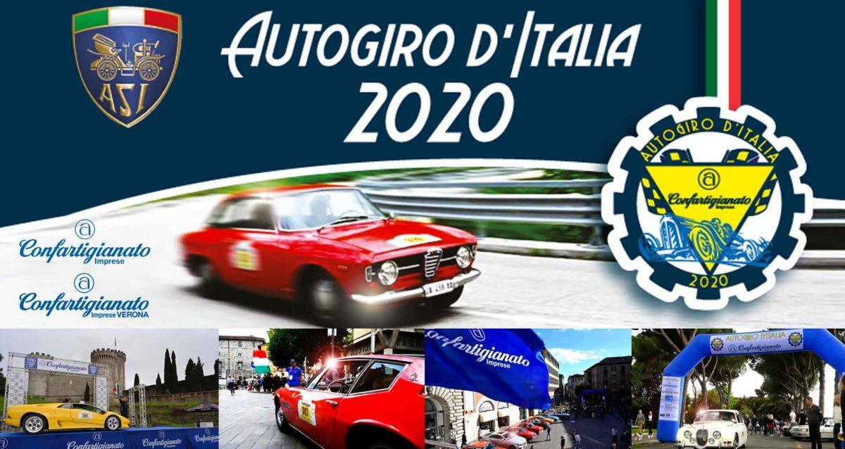 AUTOGIRO D'ITALIA – Dal 13 al 19 settembre Confartigianato alla corsa che celebra l'Italia dei motori e dell'artigianato: Villafranca protagonista della partenza e dell'arrivo