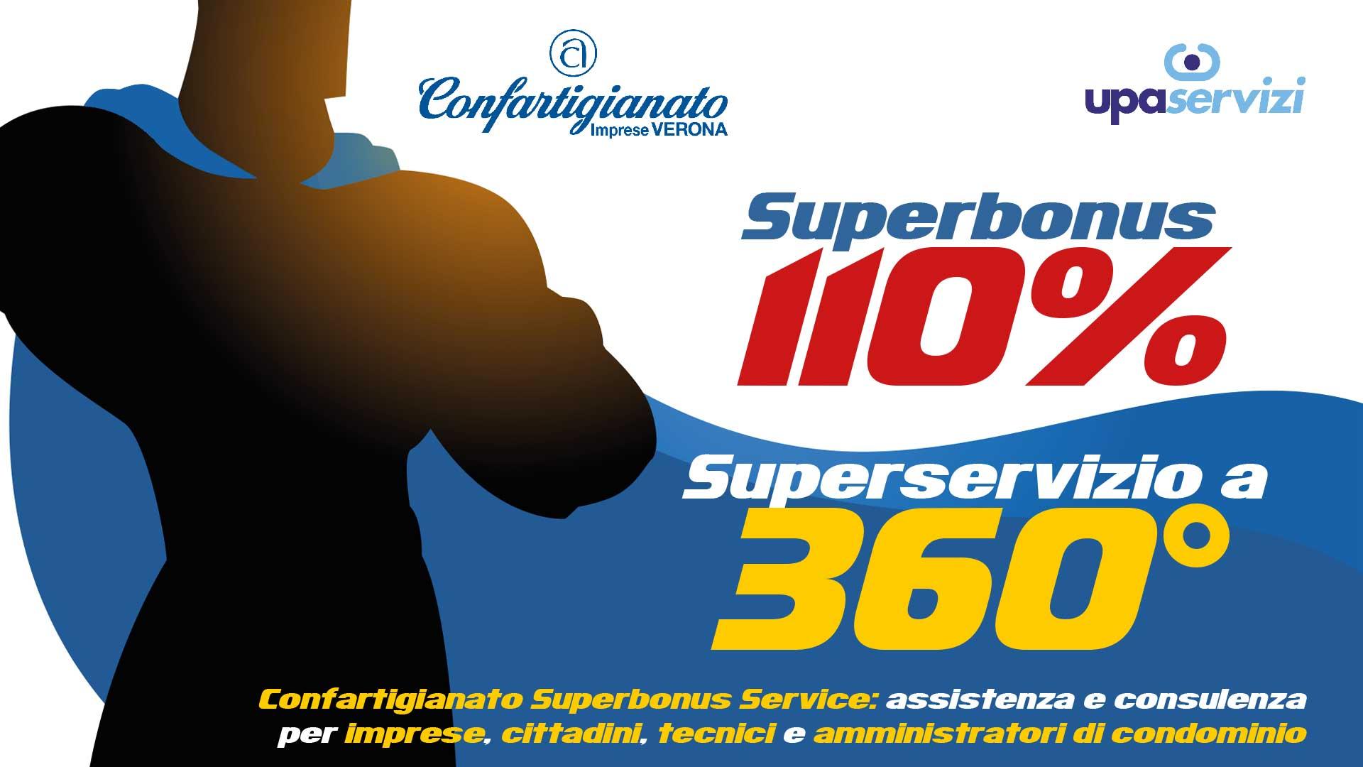 SUPERBONUS 110% – Confartigianato lancia sportello di assistenza globale a disposizione di imprese, cittadini e professionisti