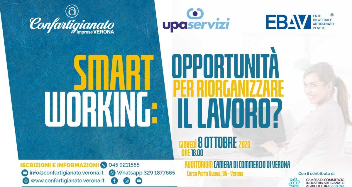 CONVEGNO – Smart Working: opportunita' per riorganizzare il lavoro? Giovedi' 8 ottobre, in Camera di Commercio per vederci chiaro