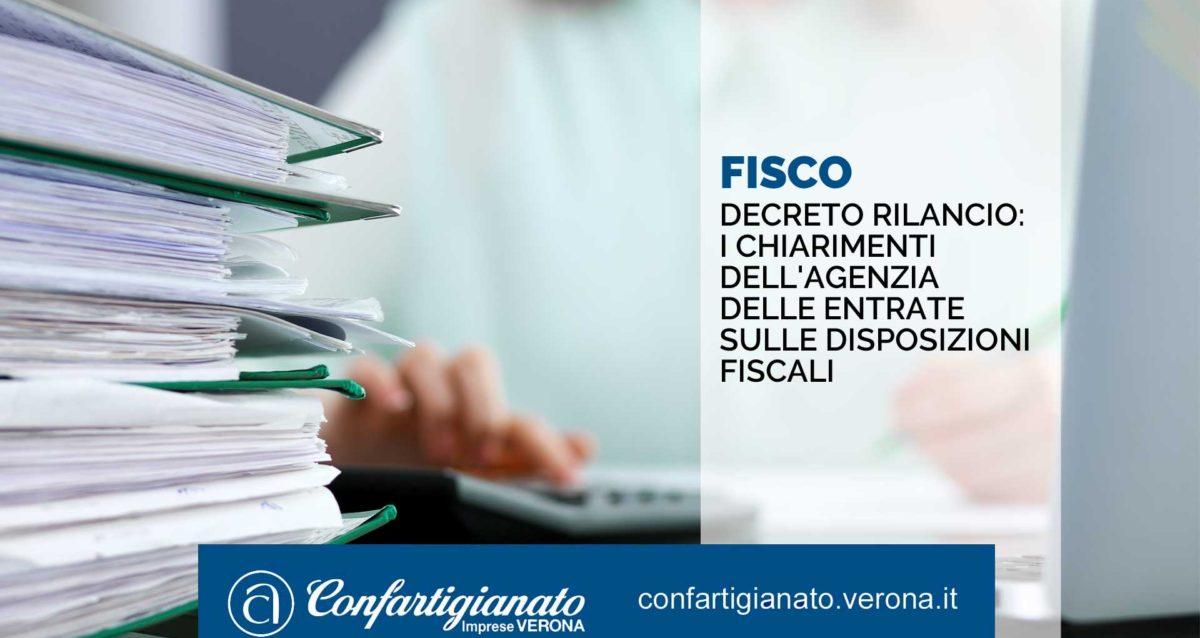 FISCO - Decreto Rilancio: i chiarimenti dell'Agenzia delle Entrate sulle disposizioni fiscali