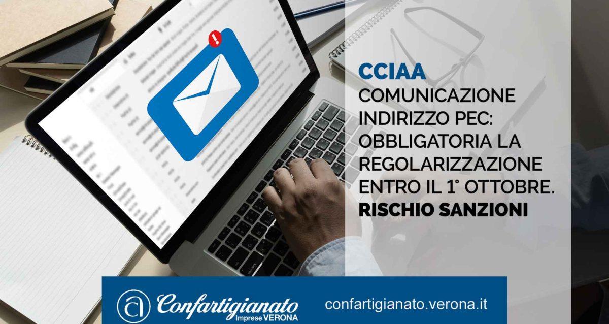 Comunicazione indirizzo PEC: obbligo di regolarizzazione entro il 1° ottobre 2020, rischio sanzioni