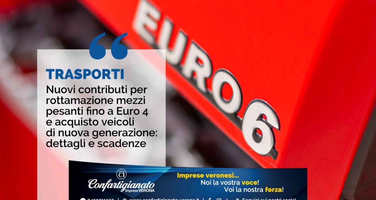 Nuovi contributi per rottamazione mezzi pesanti fino a Euro 4 e acquisto veicoli di nuova generazione: dettagli e scadenze