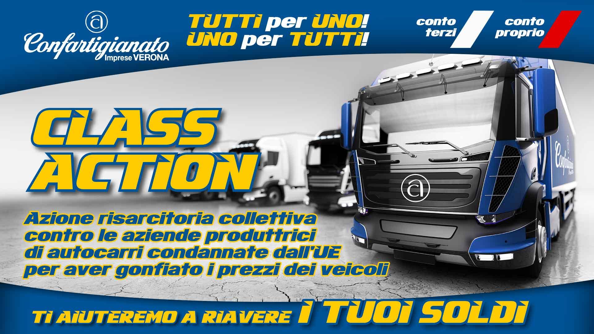CLASS ACTION – Azione collettiva contro produttori autocarri sanzionati dall'Ue per prezzi gonfiati, atto finale: è tempo di avviare la richiesta di risarcimento. Affrettatevi!