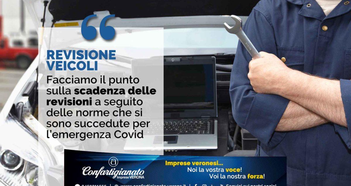 REVISIONE VEICOLI - Facciamo il punto sulla scadenza delle revisioni a seguito delle norme che si sono succedute per l'emergenza Covid