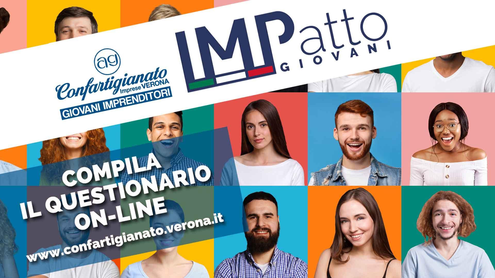 GIOVANI – Nasce IMPatto Giovani, progetto di confronto tra giovani imprenditori. Partecipa al Focus compilando il questionario on-line