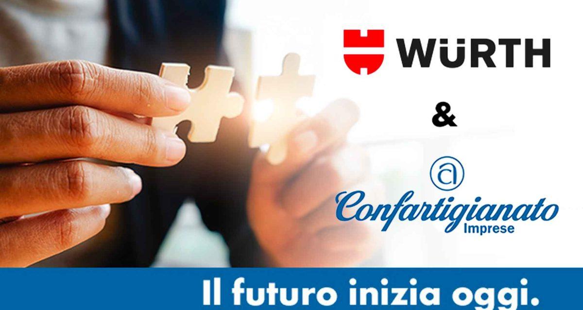 CONVENZIONI – Nuova convenzione con Würth in favore degli Associati Confartigianato