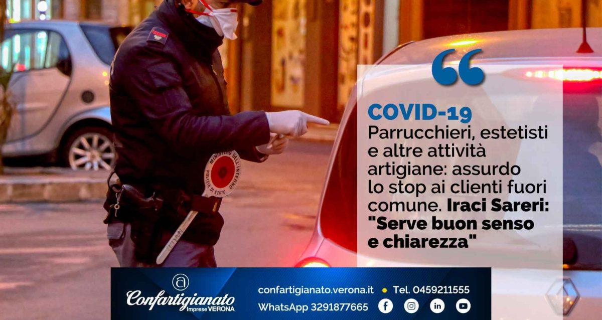 """COVID-19 – Parrucchieri, estetisti e altre attività artigiane: assurdo lo stop ai clienti fuori comune. Iraci Sareri: """"Serve buon senso e chiarezza"""""""
