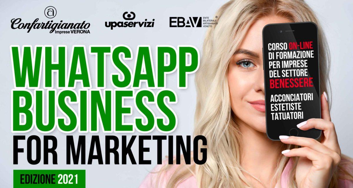 BENESSERE – WhatsApp Business for Marketing: nuovo corso on-line per usare l'app nella gestione dei clienti e nel marketing. Iscriviti