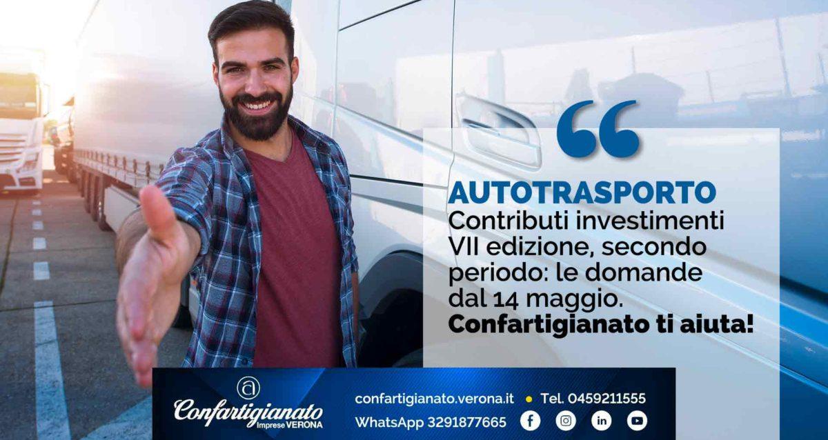 AUTOTRASPORTO – Contributi investimenti VII edizione, secondo periodo: via alle domande dal 14 maggio. Confartigianato ti aiuta!