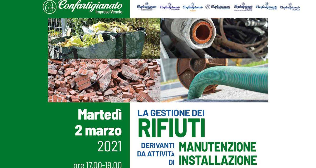 """IMPIANTI e SETTORE CASA – Seminario online su """"La Gestione dei Rifiuti"""": martedì 2 marzo, iscriviti subito"""