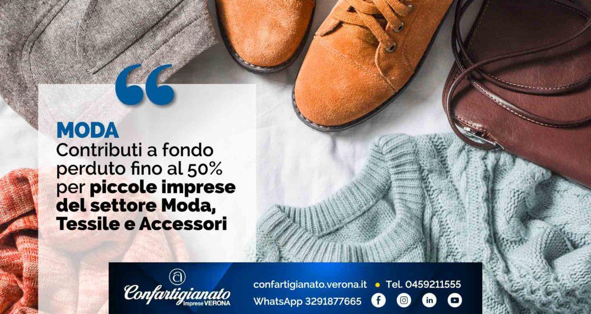MODA – Contributi a fondo perduto fino al 50% per piccole imprese Moda, Tessile e Accessori