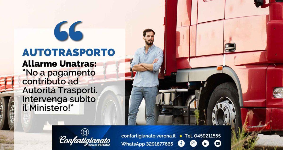AUTOTRASPORTO – Unatras: 'No a pagamento contributo ad Autorità Trasporti. Intervenga subito Ministero'