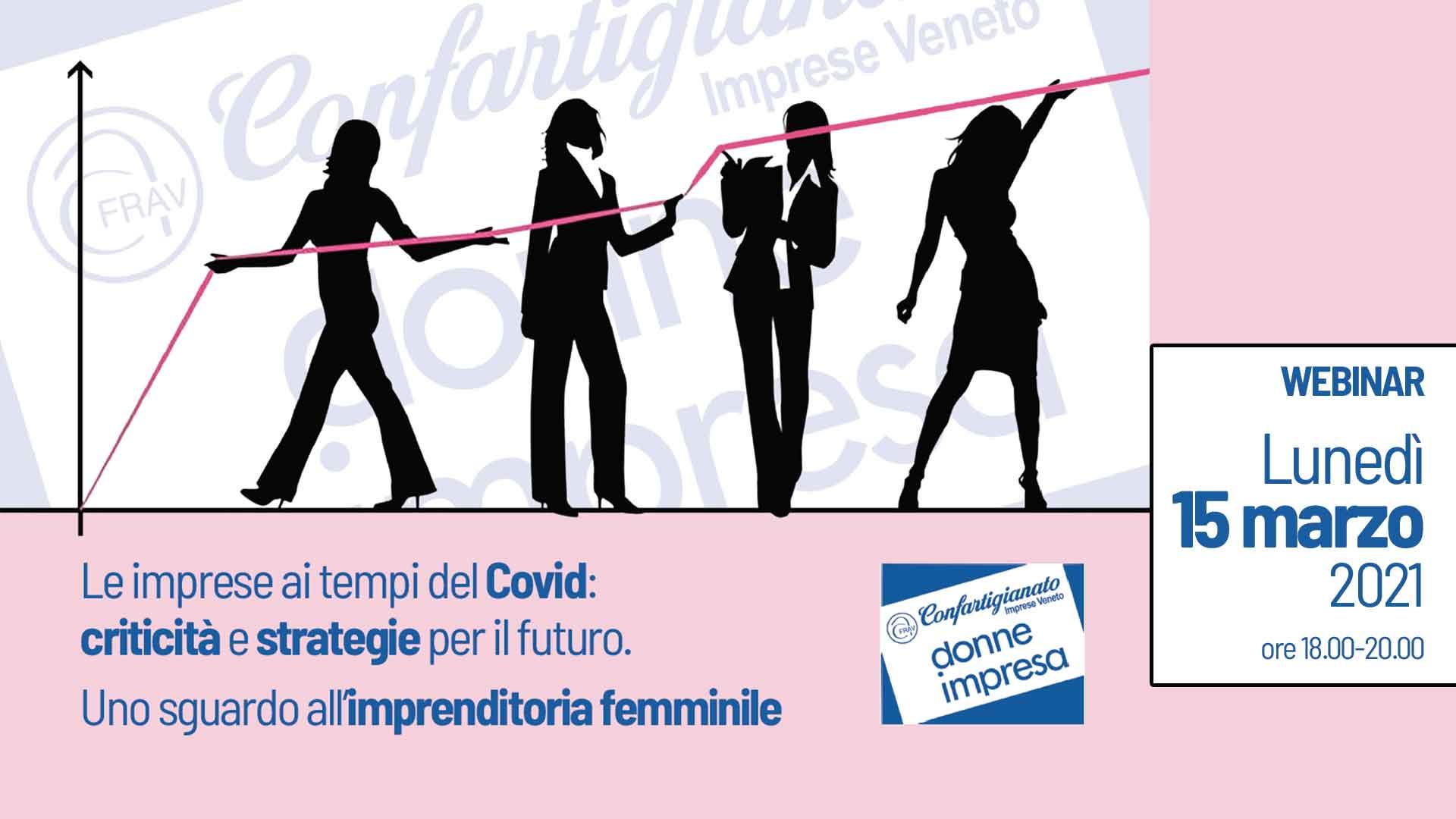 DONNE – Seminario Donne Impresa, 15 marzo: Criticità e strategie per il futuro. Uno sguardo all'imprenditoria femminile. Iscriviti subito