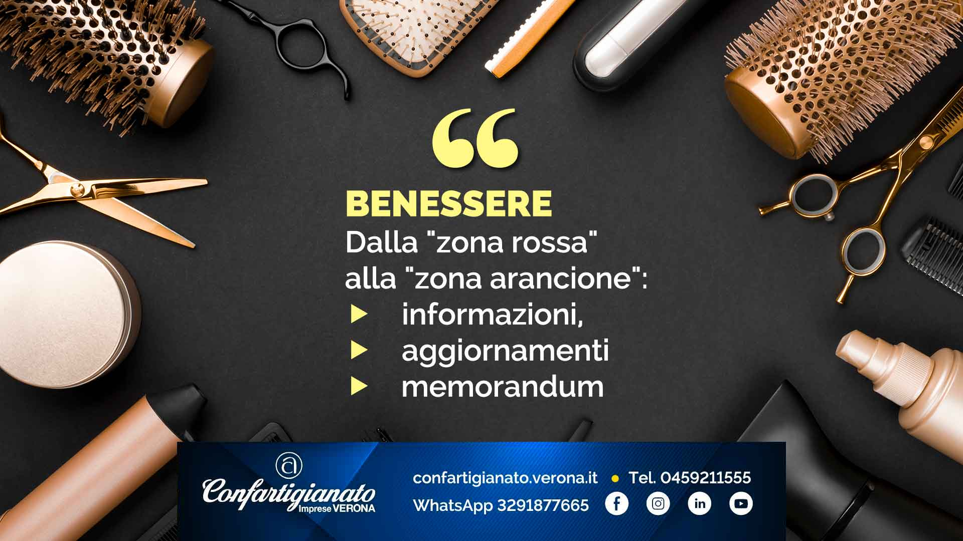 """BENESSERE – Dalla """"zona rossa"""" alla """"zona arancione"""": informazioni, aggiornamenti e memorandum"""