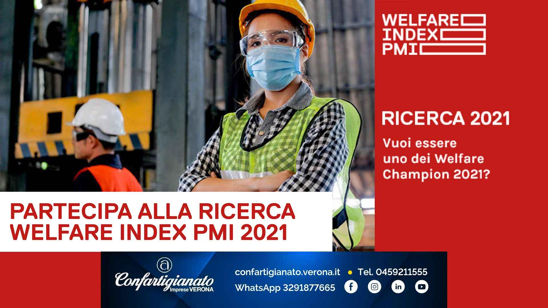 INIZIATIVA – Partecipa alla ricerca Welfare Index 2021: indagine sul welfare aziendale
