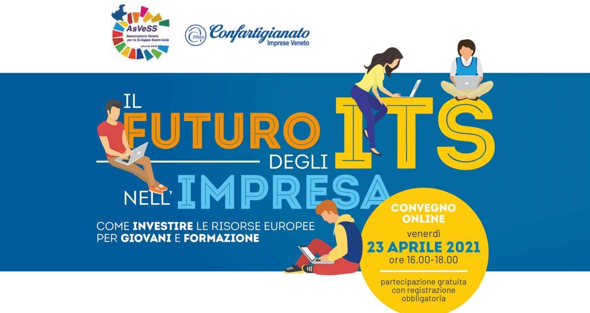 APPUNTAMENTO – Il Futuro degli ITS nell'impresa: il 23 aprile, in diretta sui social di Confartigianato Veneto, ospite il Ministro dell'Istruzione Bianchi
