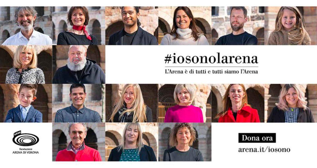 INIZIATIVA – Confartigianato adotta una delle 67 colonne dell'Arena di Verona. Al via la campagna #iosonolarena: donazione libera per cittadini e Associati. Giovedì 13 maggio presentazione on-line