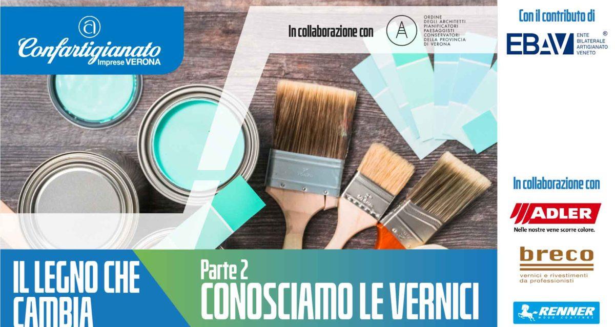 LEGNO ARREDO – Seconda parte del progetto 'Il Legno che Cambia': iscriviti ai due seminari on-line del ciclo 'Conosciamo le vernici'