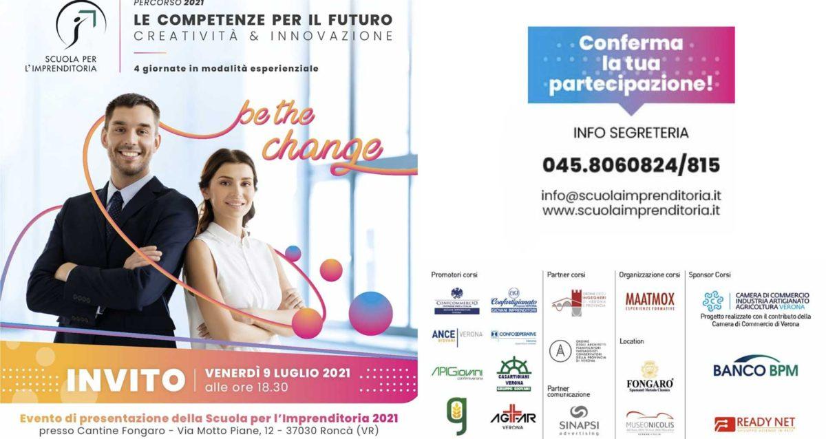 GIOVANI – Torna la Scuola per l'Imprenditoria: il 9 luglio l'evento di presentazione dell'edizione 2021