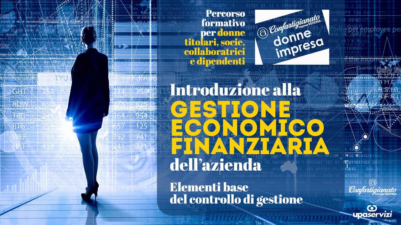 DONNE IMPRESA – Giornata formativa: introduzione alla gestione economico-finanziaria dell'azienda. Iscriviti entro il 2 luglio