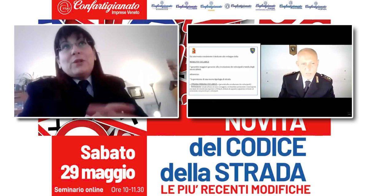 """MOBILITA' – Richiedi il video del seminario on-line """"Novità del Codice della Strada"""" con l'intervento della Polstrada"""