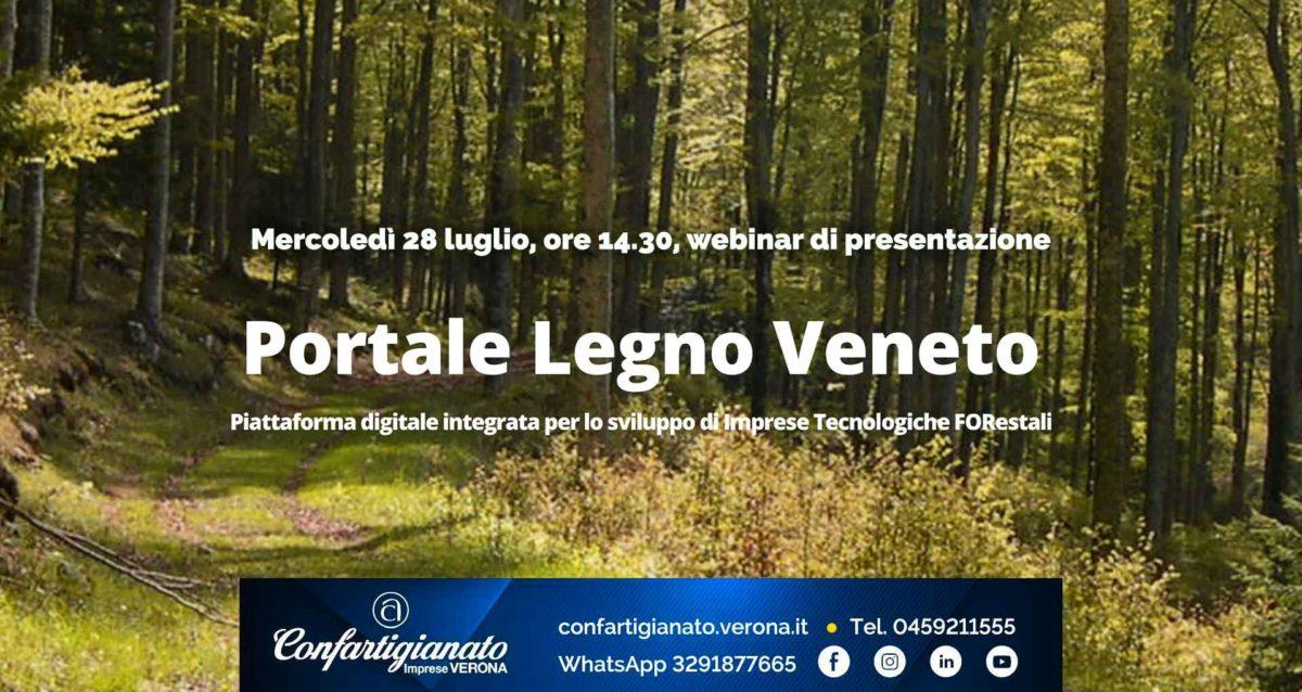 LEGNO ARREDO – Presentazione del Portale Legno Veneto: mercoledì 28 luglio in videoconferenza