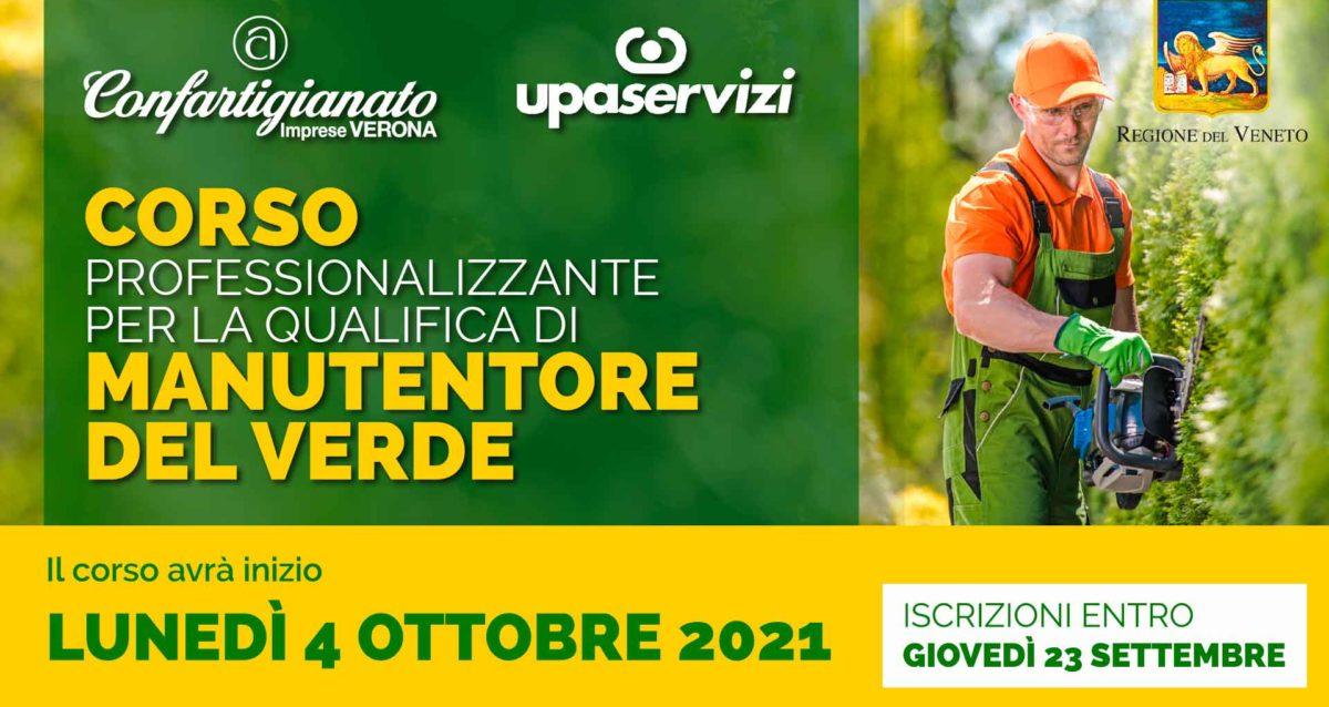 MANUTENTORE DEL VERDE - Corso professionalizzante riconosciuto dalla Regione del Veneto al via il 4 ottobre. Iscrizioni entro il 23 settembre