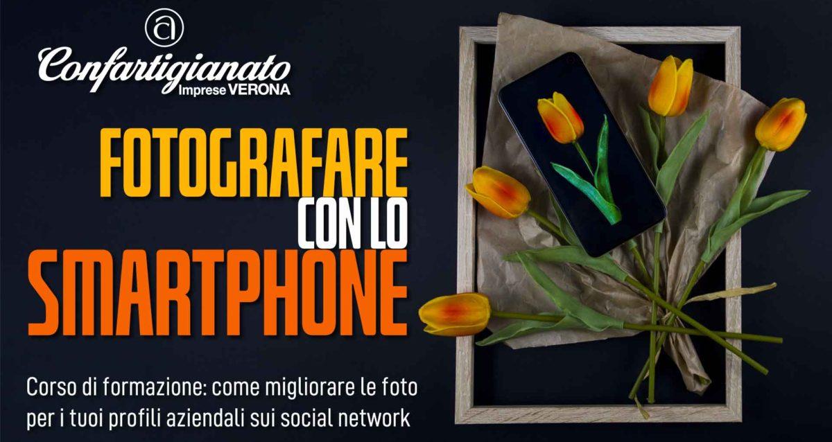 """CORSO DI FORMAZIONE - Il 4 e 11 ottobre, """"Fotografe con lo Smartphone"""": migliora le tue foto per i profili aziendali sui social network. Iscriviti subito"""