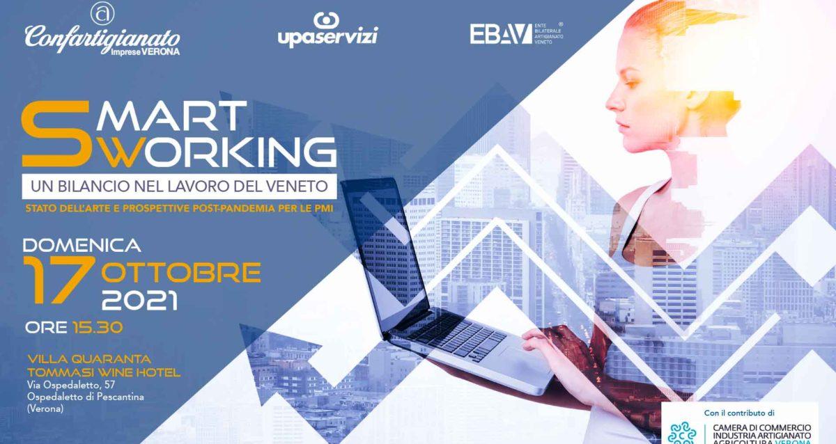 CONVEGNO – Smart Working: un bilancio nel lavoro del Veneto. Domenica 17 ottobre a Villa Quaranta